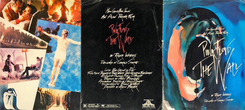 Pink Floyd - The Wall - The Film [USA] - Brochure
