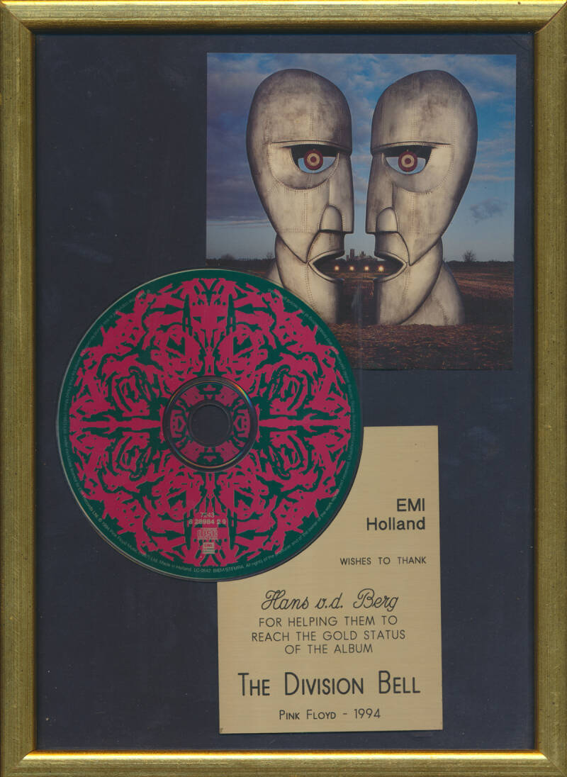 Pink Floyd - The Division Bell [Holland] - Award