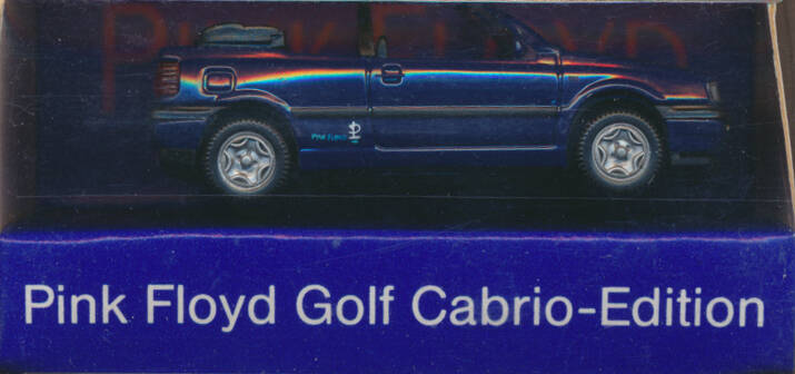 Pink Floyd - Pink Floyd Gold Cabrio-Edition [Germany] - Merchandise