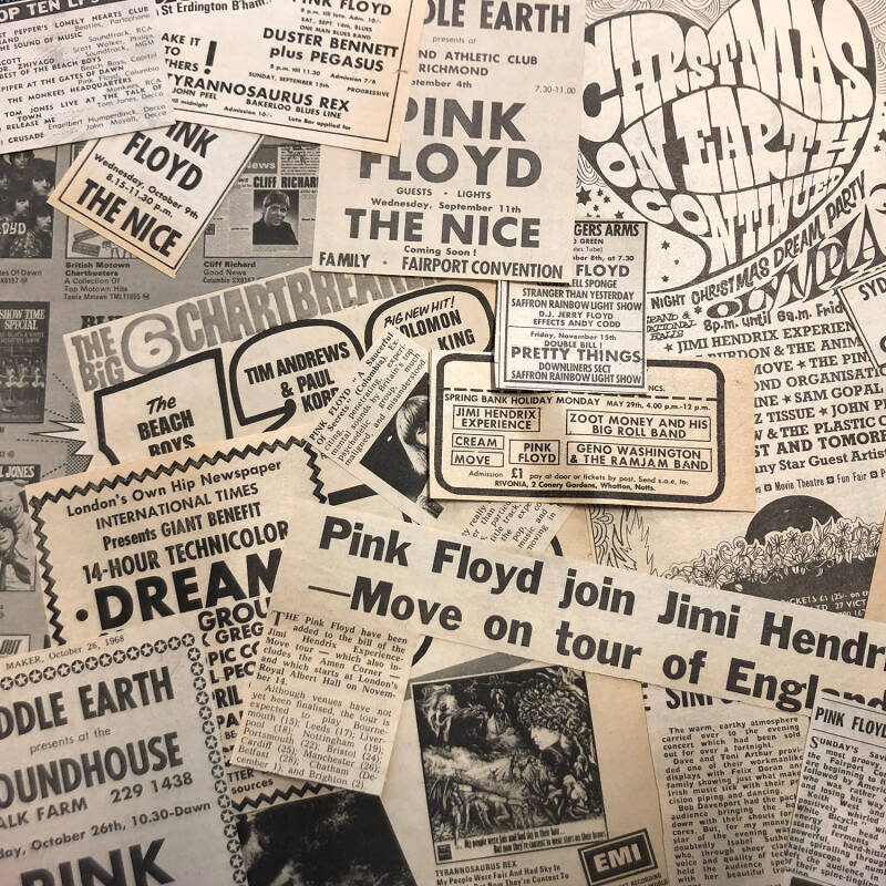 Pink Floyd - Melody Maker - 1967/1969 [UK] - Clippings