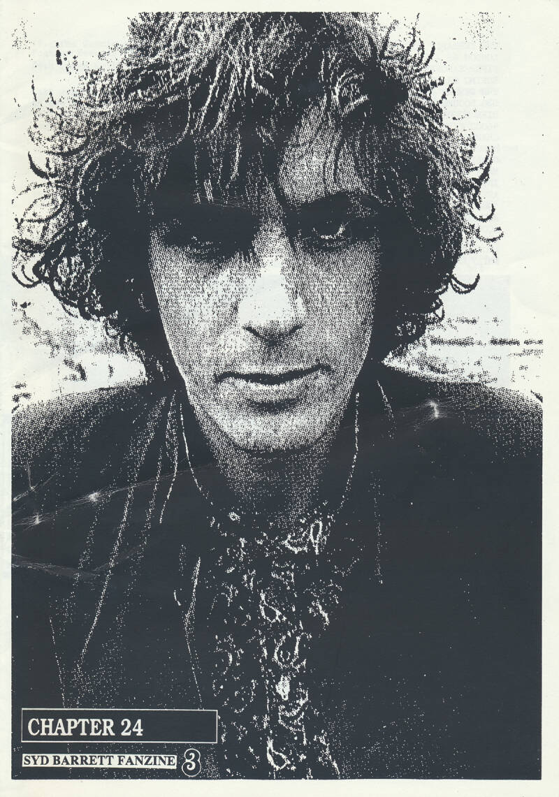 Syd Barrett - Chapter 24 3, March 18, 1995 [UK] - Magazine