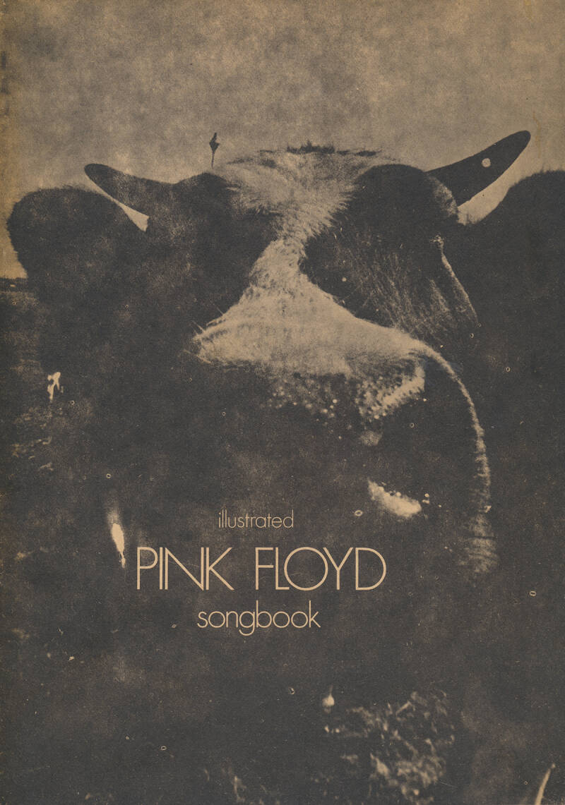 Pink Floyd - Illustrated Pink Floyd Songbook 1971 [Holland] - Programme