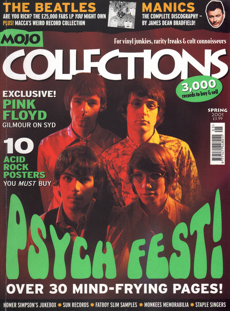 Pink Floyd - Mojo Collections 2, Spring 2001 [UK] - Magazine