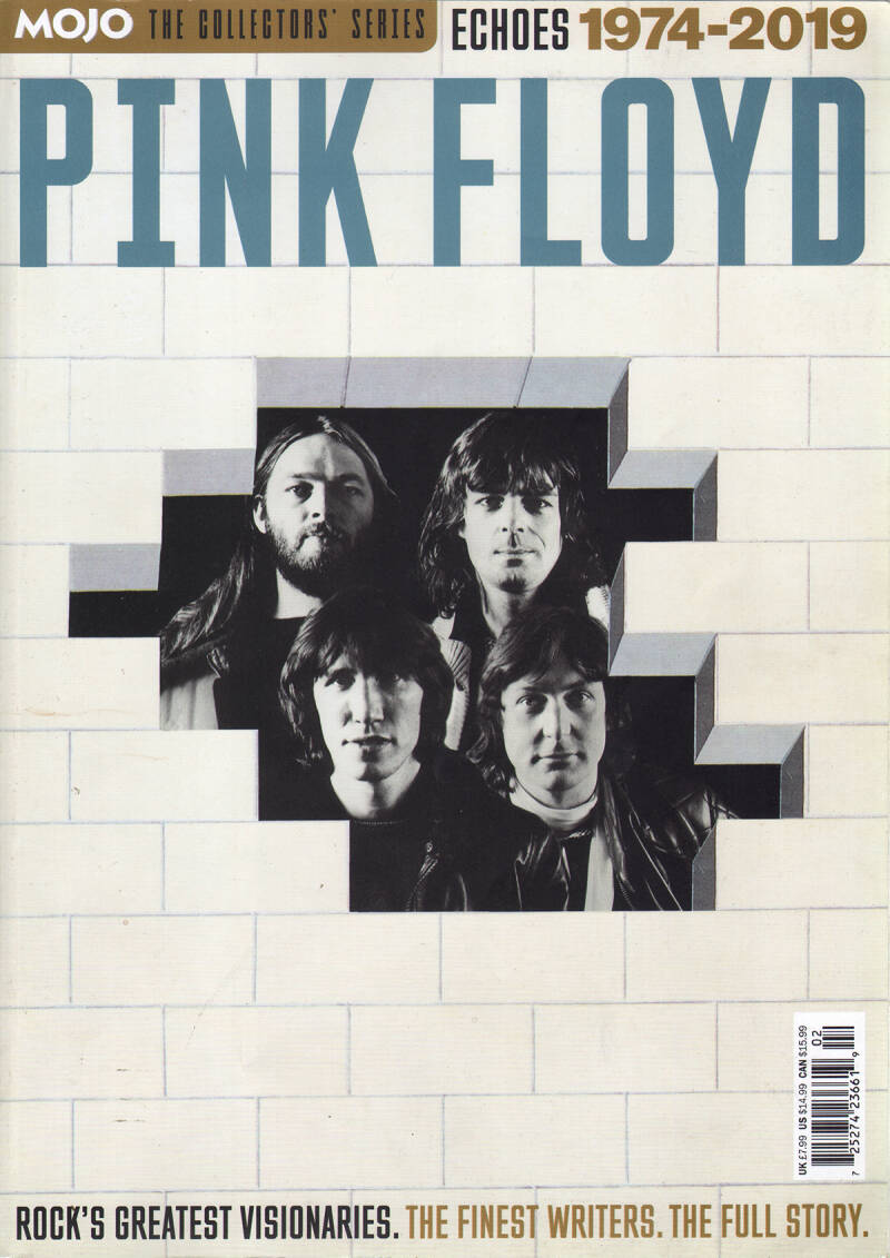 Pink Floyd - Mojo The Collectors Series - Echoes 1974-2019 [UK] - Magazine