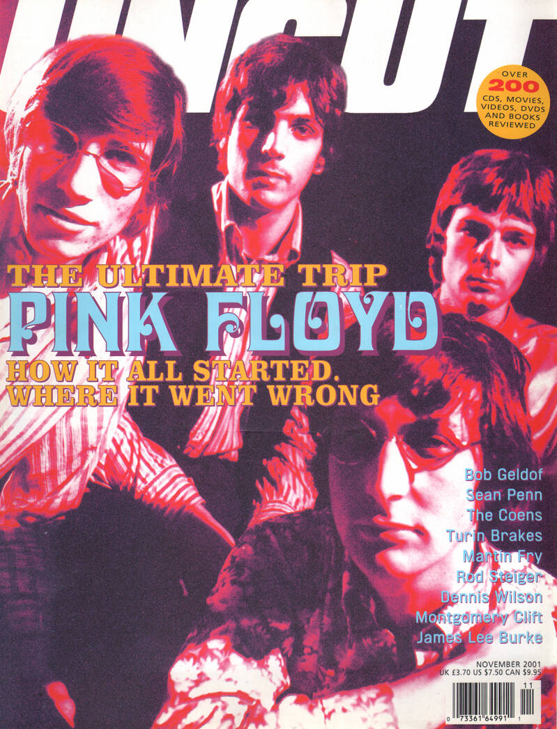 Pink Floyd - Uncut 054, November 2001 [UK] - Magazine