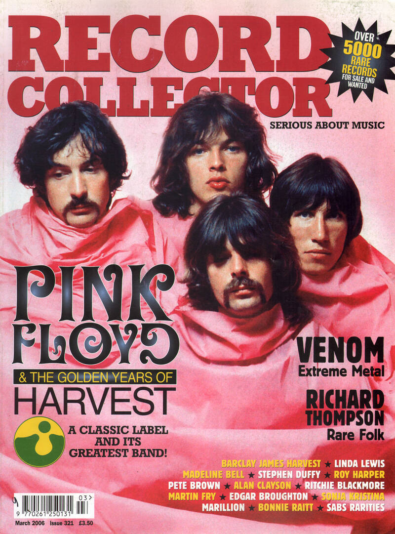 Pink Floyd - Record Collector 321, March 2006 [UK] - Magazine
