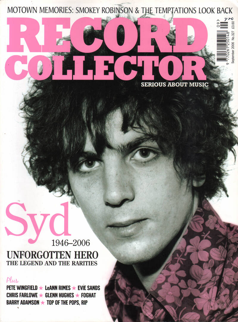 Pink Floyd - Record Collector 327, September 2006 [UK] - Magazine
