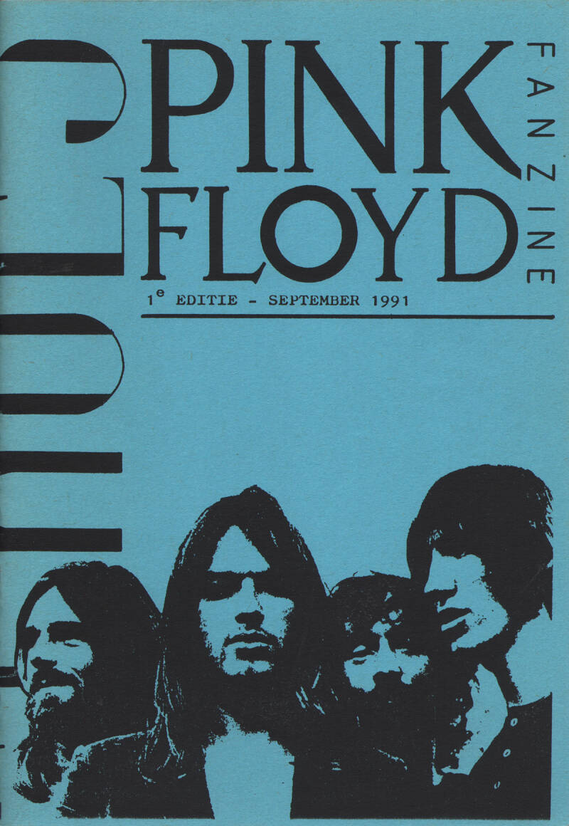 Pink Floyd - Echoes 1, September 1991 [Holland] - Magazine