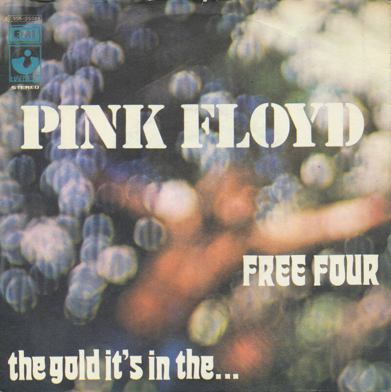 """Pink Floyd - Free Four [Italy] - 7"""""""