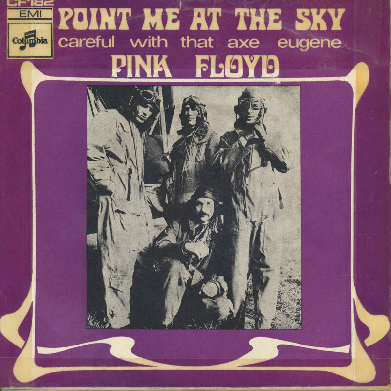 """Pink Floyd - Point Me At The Sky [France] - 7"""""""