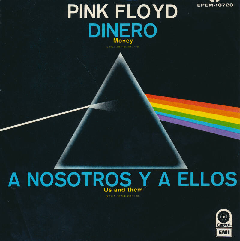 """Pink Floyd - Money [Mexico, tan labels] - 7"""""""