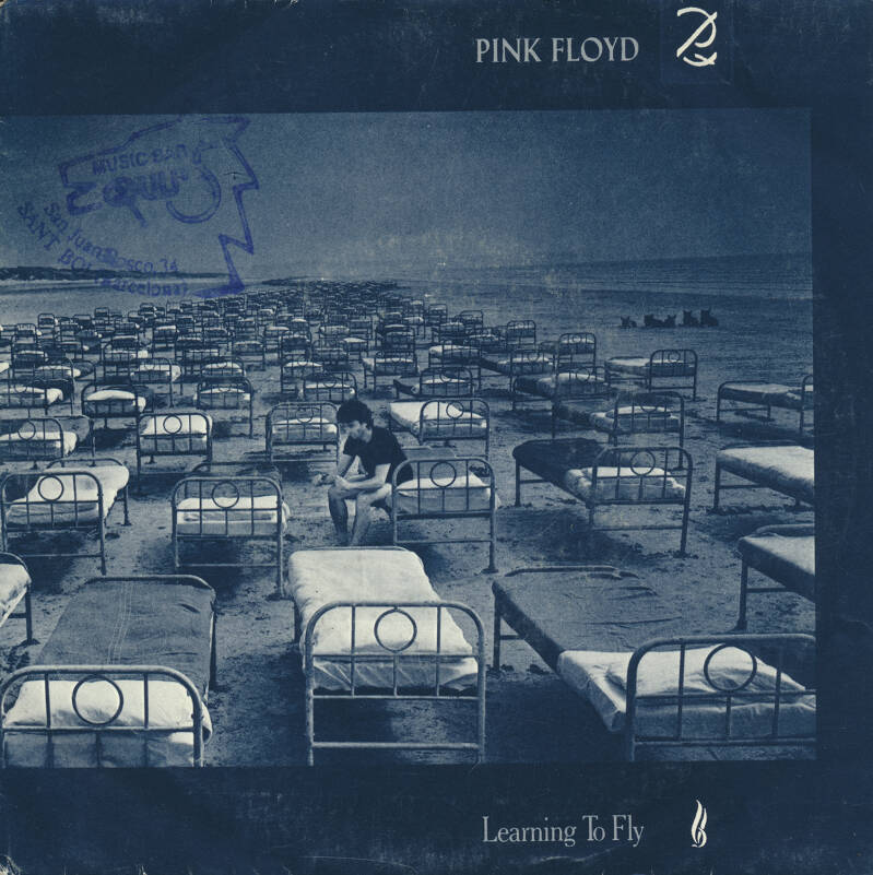 """Pink Floyd - Learning To Fly [Spain] - 7"""""""