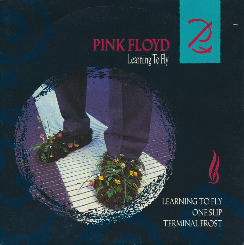 """Pink Floyd - Learning To Fly [France] - 7"""""""