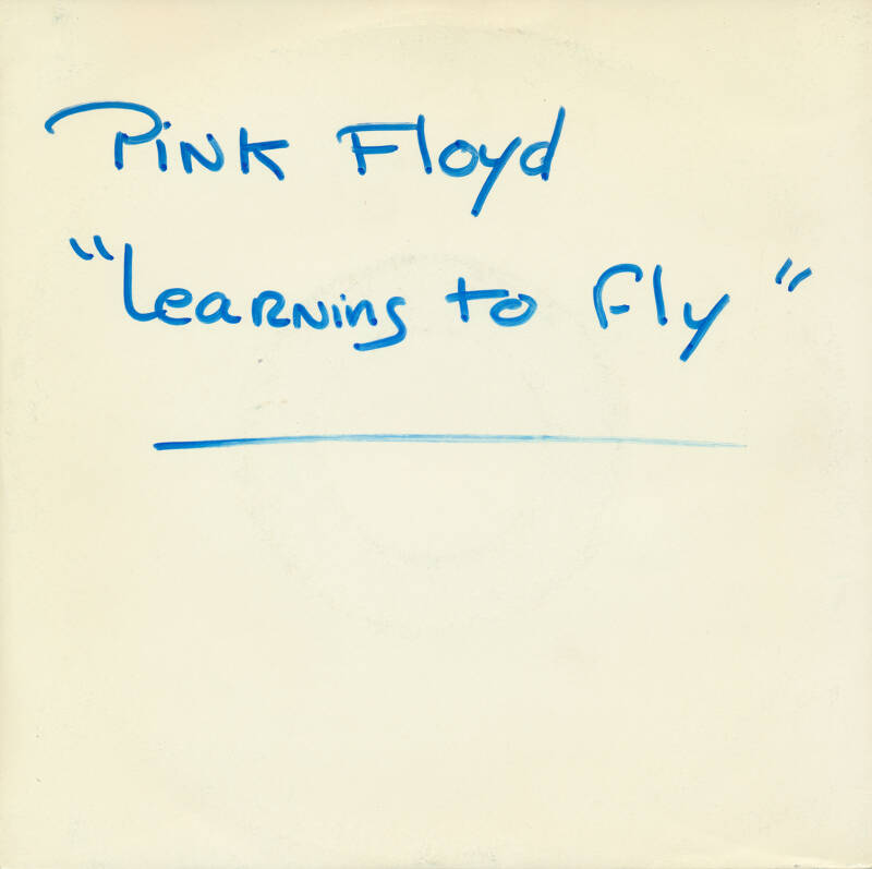 """Pink Floyd - Learning To Fly [France, test pressing] - 7"""""""