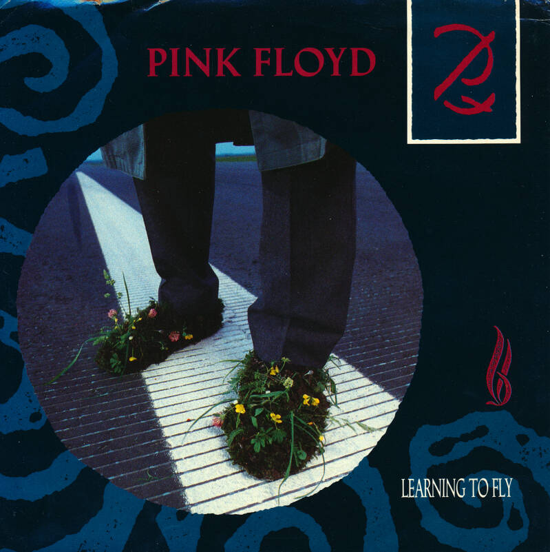 """Pink Floyd - Learning To Fly [USA, promo] - 7"""""""