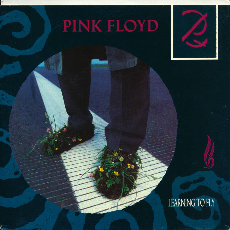 """Pink Floyd - Learning To Fly [Australia] - 7"""""""