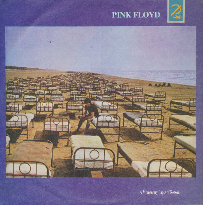 """Pink Floyd - A Momentary Lapse Of Reason [Bolivia] - 7"""""""