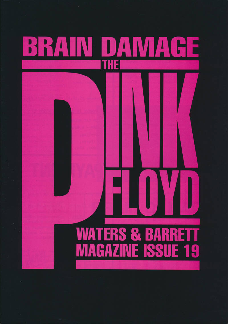 Pink Floyd - Brain Damage 19, May 1989 [UK] - Magazine