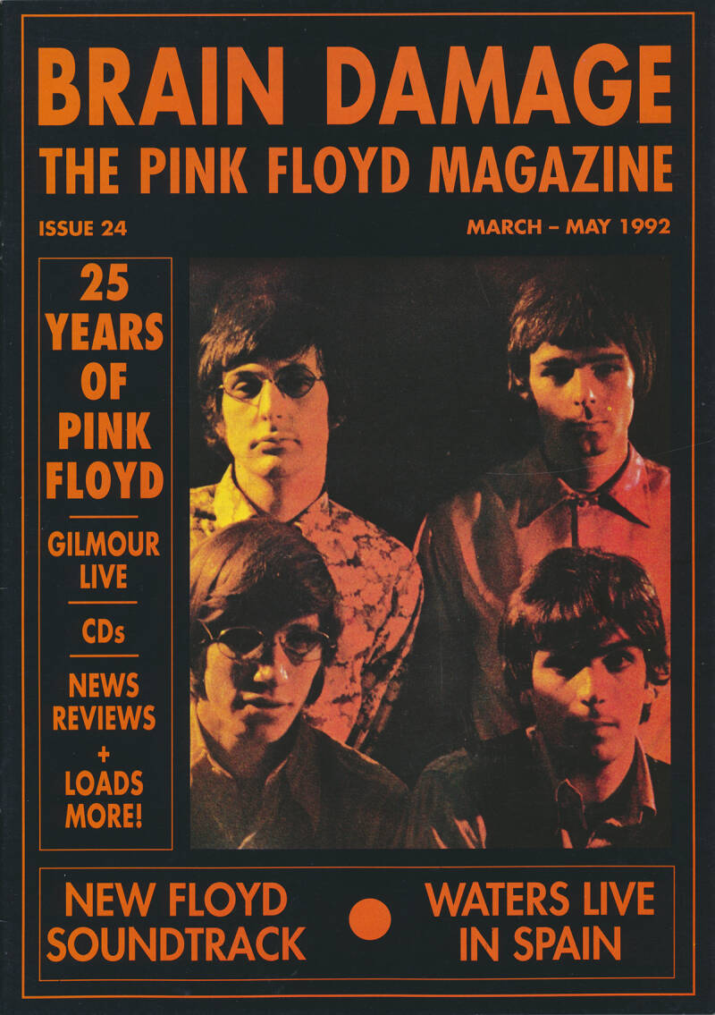Pink Floyd - Brain Damage 24, March 1992 [UK] - Magazine