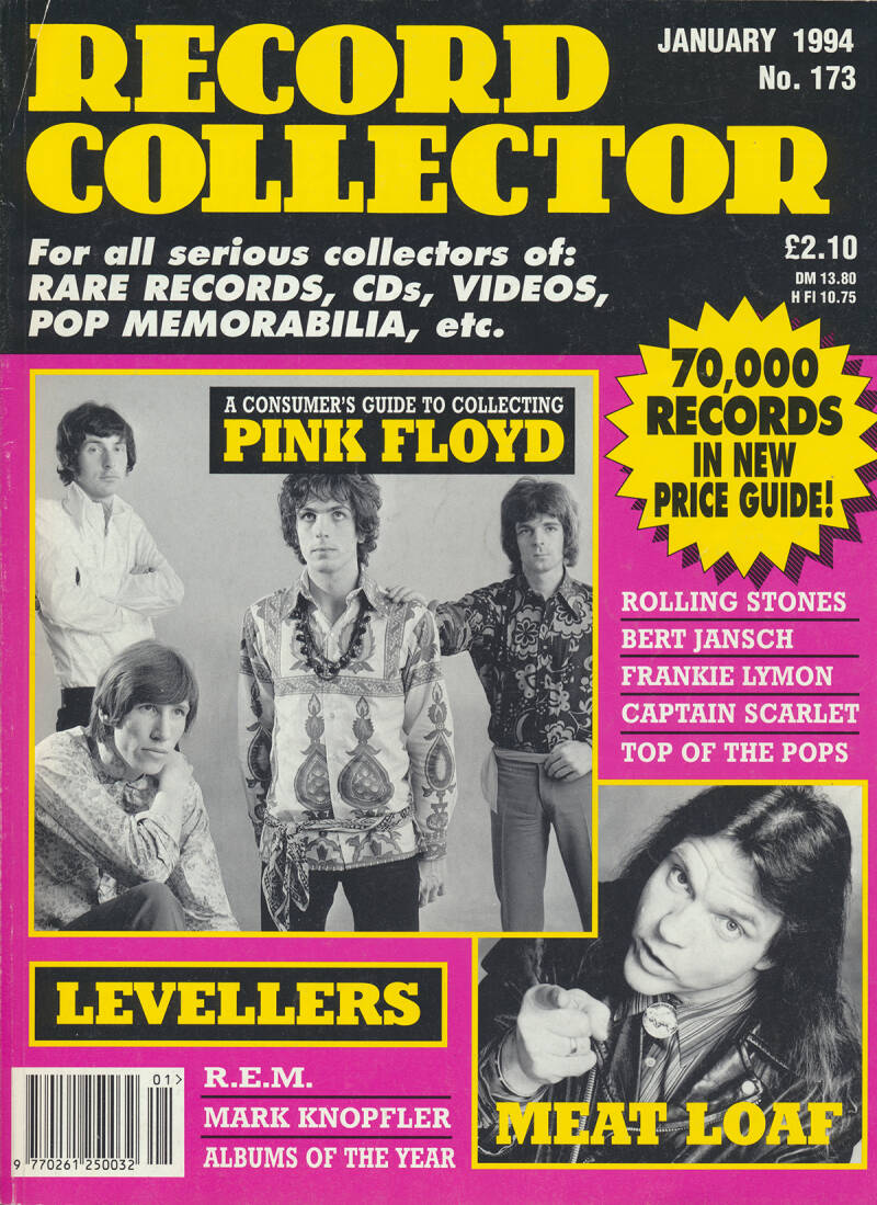 Pink Floyd - Record Collector 173, January 1994 [UK] - Magazine