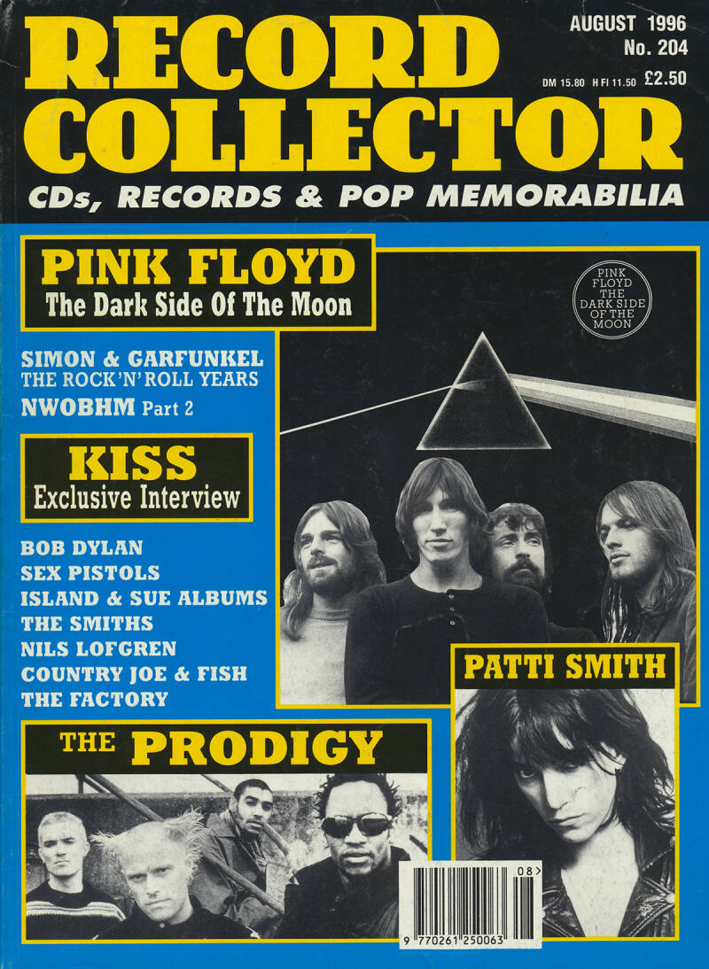 Pink Floyd - Record Collector 204 - August 1996 [UK] - Magazine