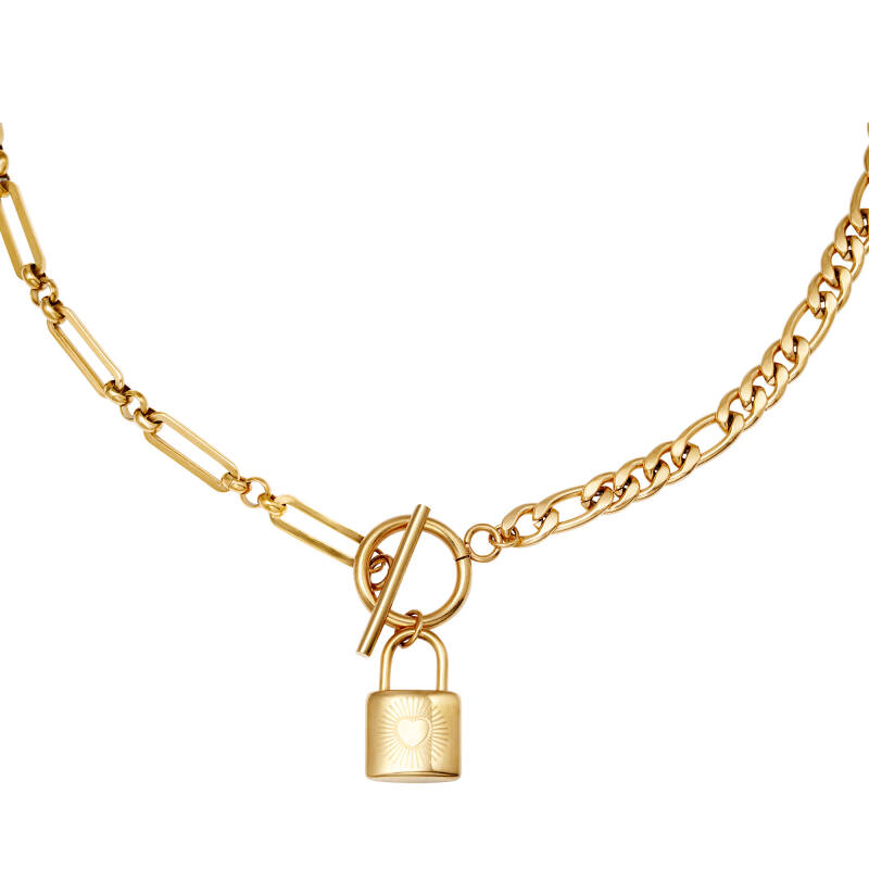 Chain & Lock goud of zilver