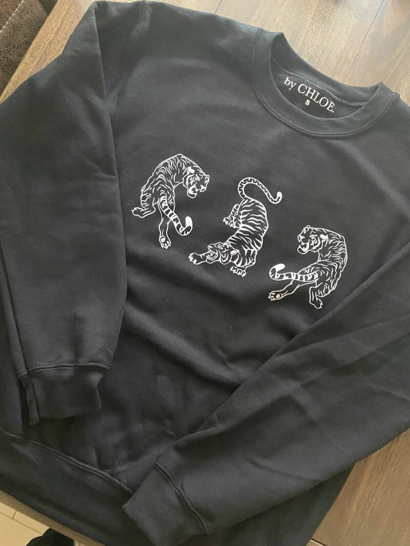 By Chloe tiger sweater