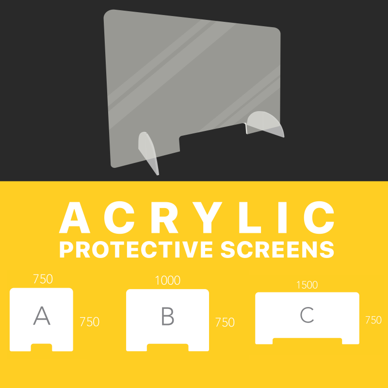 Acrylic Protective Screens
