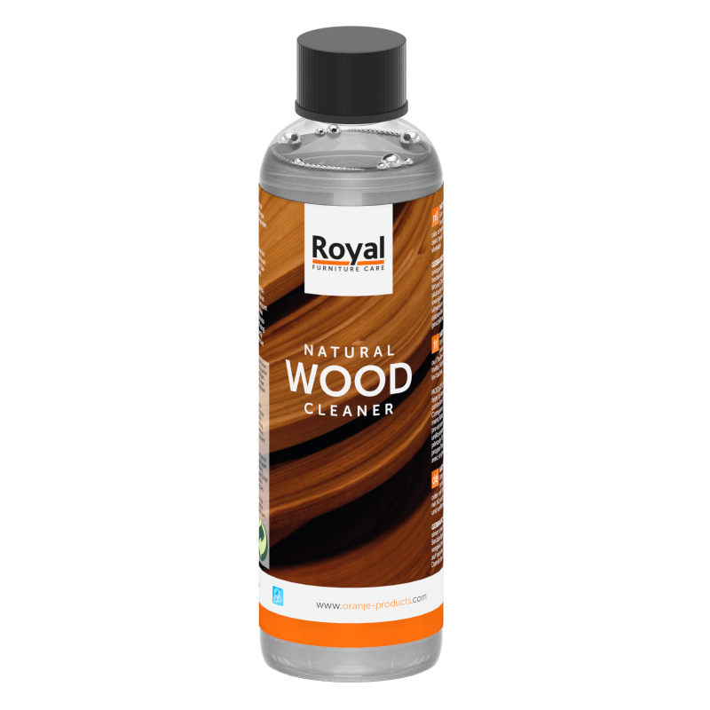 Natural Wood Cleaner 250 ml flacon - Oranje Furniture Care