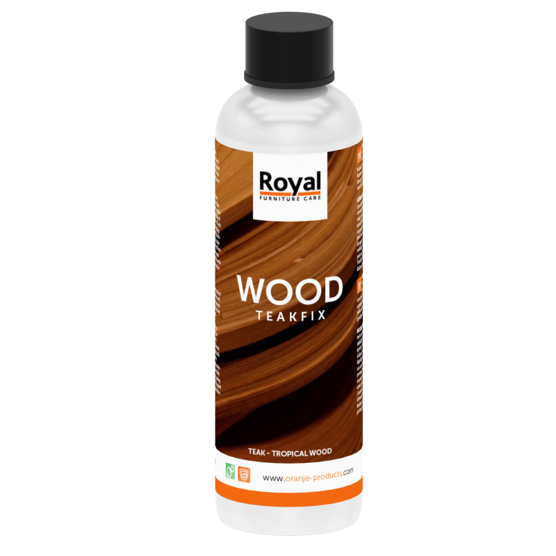 Wood Teakfix 250 ml flacon - Oranje Furniture Care