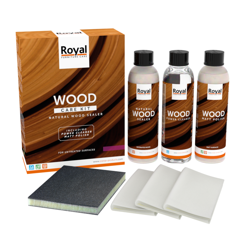 Wood Care Kit Natural Sealer - Oranje Furniture care