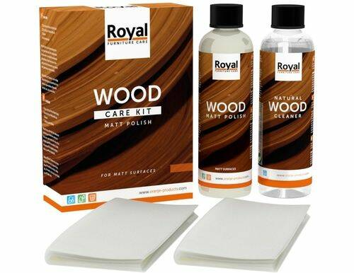 Wood Care Kit Matt Polish - Oranje Furniture Care
