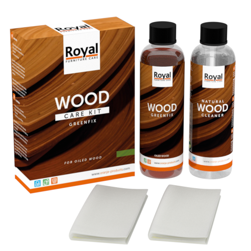 Wood Care Kit Greenfix - Oranje Furniture Care