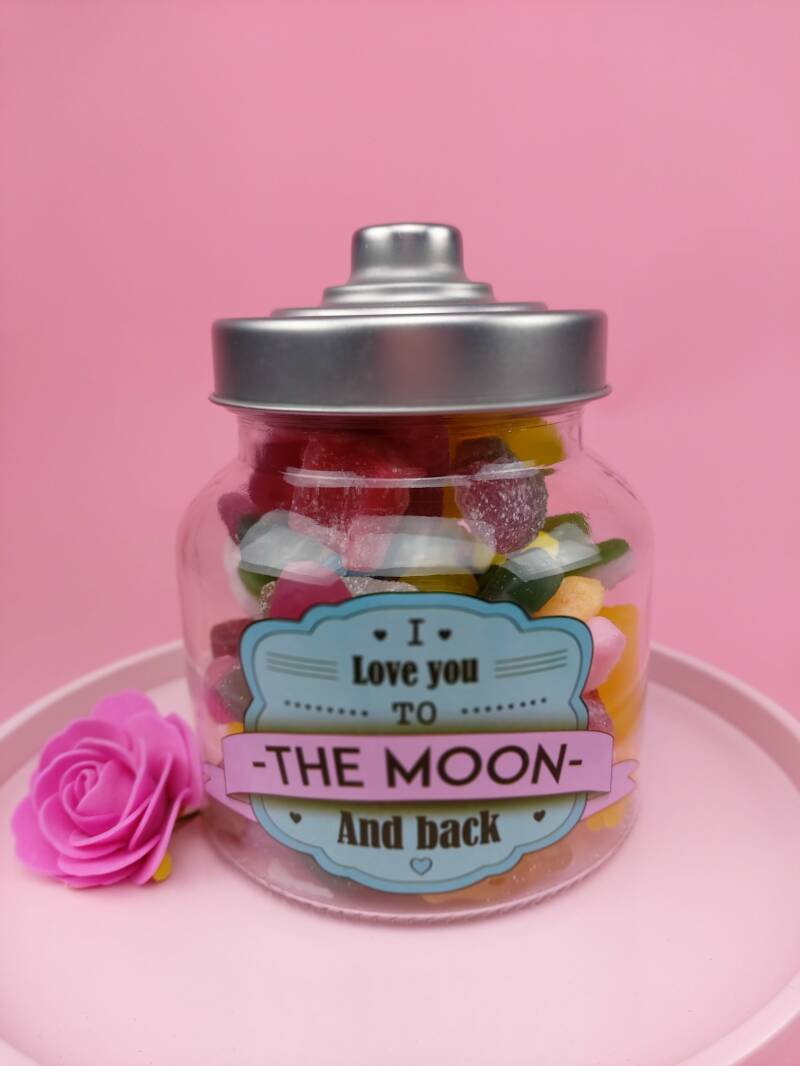 """Snoeppot """"I Love you to The Moon & Back"""""""