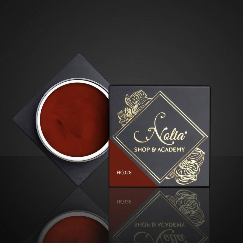 High Cover Gel HC028 - RUSTY RED