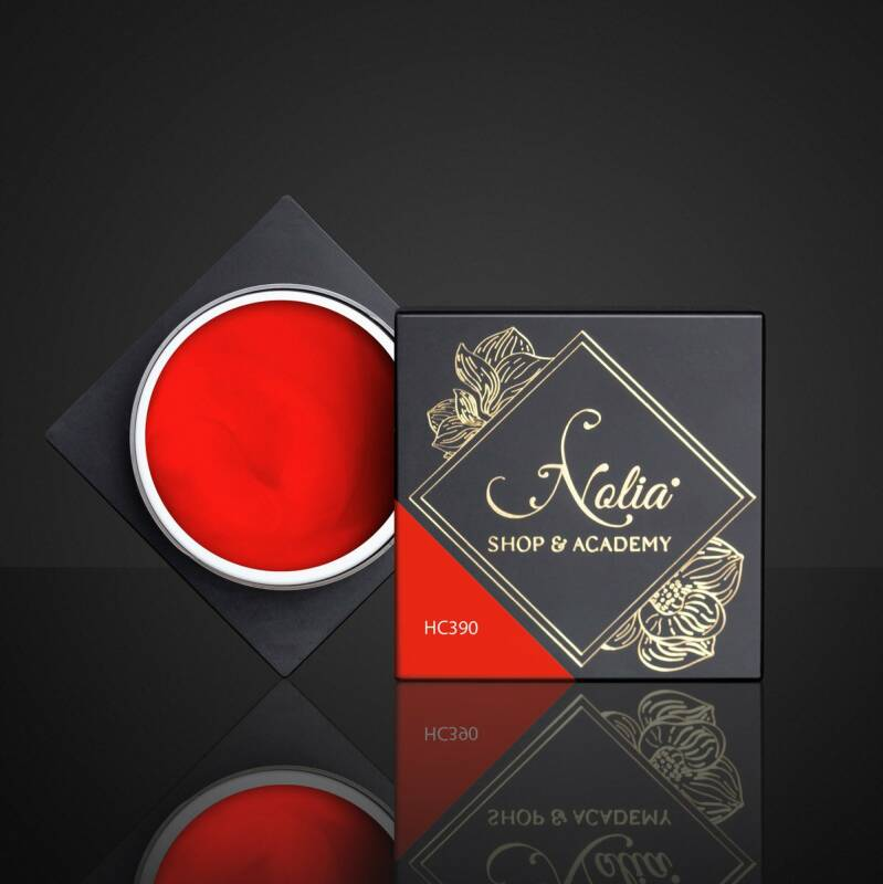 High Cover Gel HC390 - NEON RED