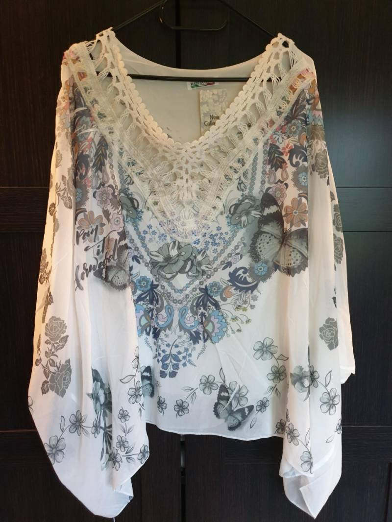 Vlinderblouse One Size