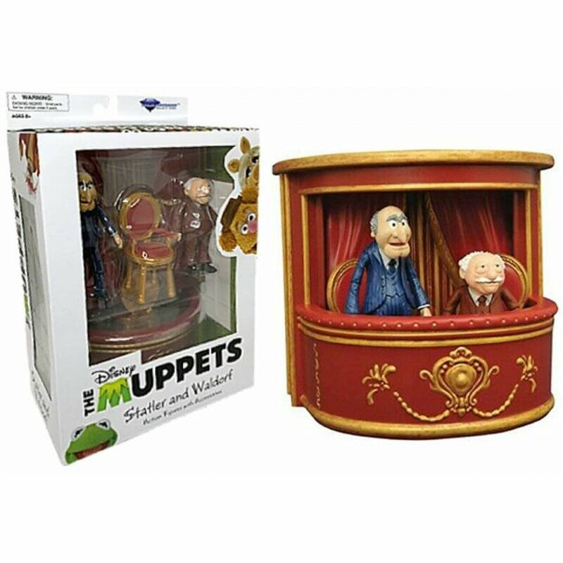 The Muppets - The Muppets Select 2-Packs Best Of Series - Statler & Waldorf