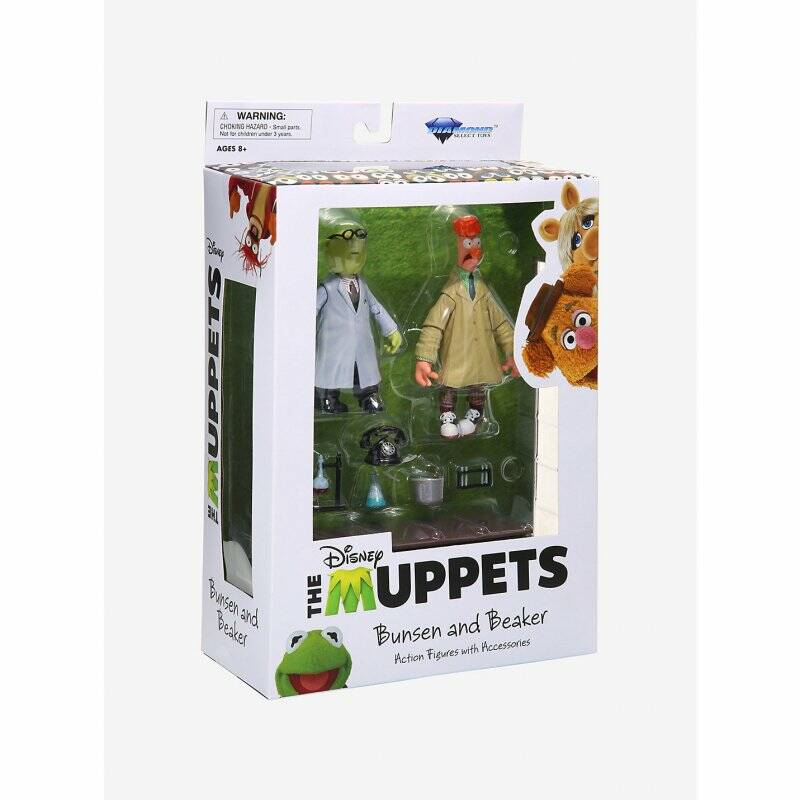 The Muppets - The Muppets Select 2-Packs Best Of Series - Bunsen & Beaker
