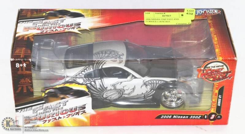 Fast And The Furious Tokyo Drift Nissan 350Z 2003