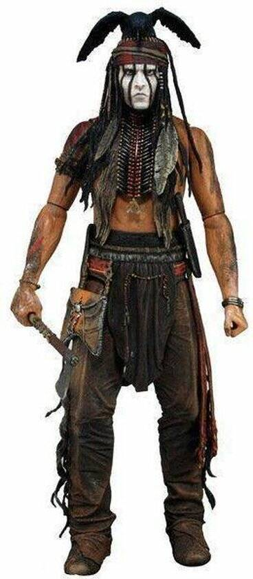 """The Lone Ranger """"Tonto"""" Action Figure"""