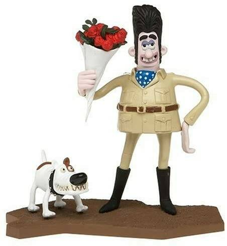 """McFarlane Wallace and Gromit """"Victor Quartermaine"""" Were Rabbit Action Figure"""