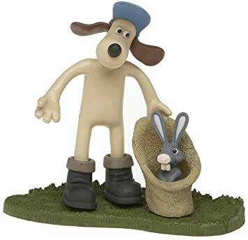 """McFarlane Wallace and Gromit """"Gromit 2"""" Were Rabbit Action Figure"""