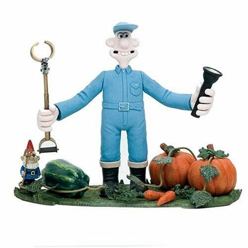 """McFarlane Wallace and Gromit """"Wallace"""" Were Rabbit Action Figure"""