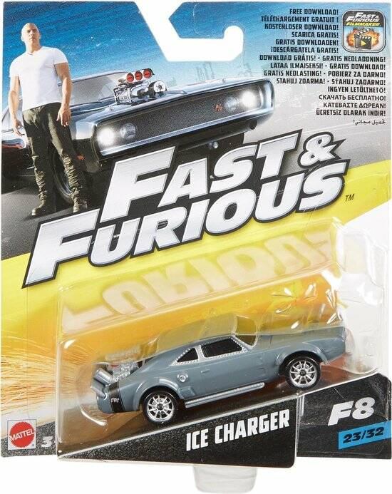 Fast & Furious 8 ICE Charger