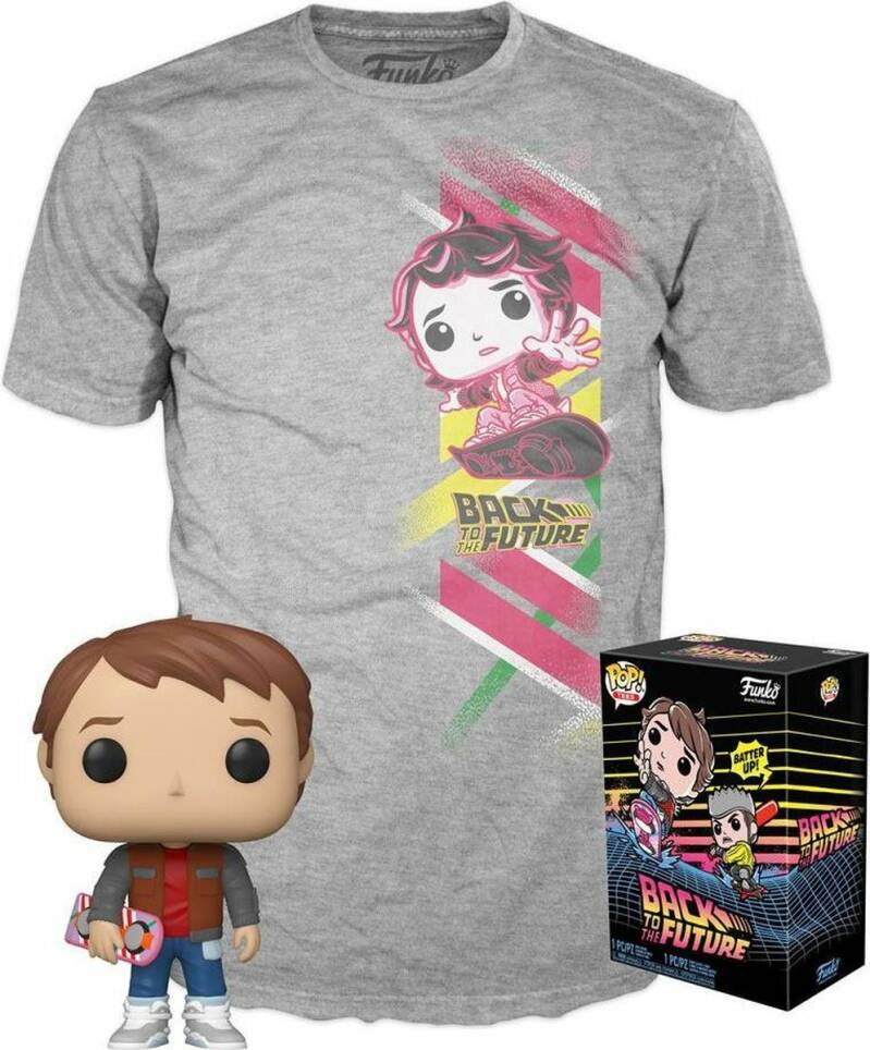 Back To The Future POP! & T-Shirt Box Marty Heo Exclusive
