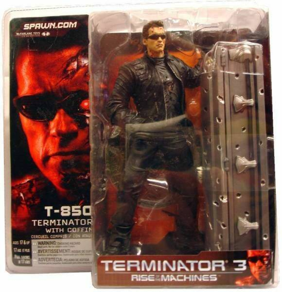 Terminator 3 T-850 With Coffin