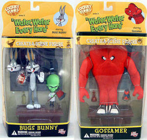 Looney Tunes Create A Scene 'Water, Water Everyhare' Series 3 Set