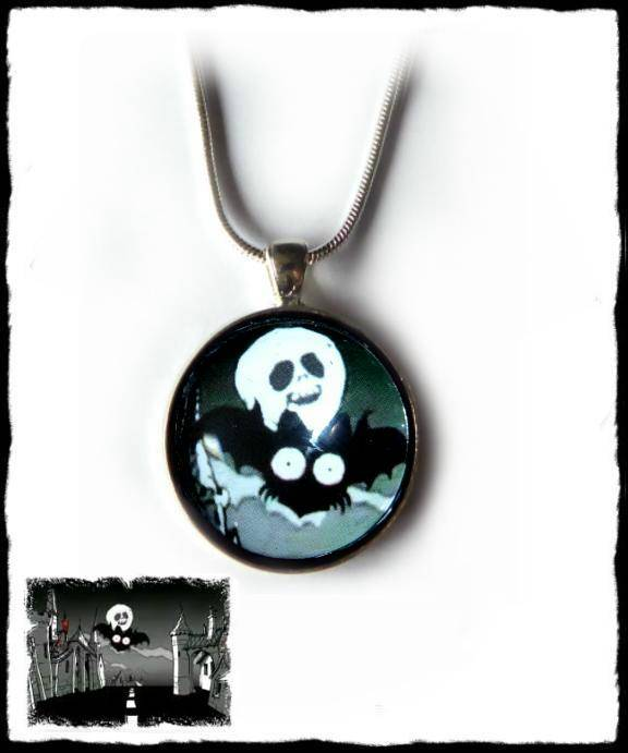Necklace round large When the Moon