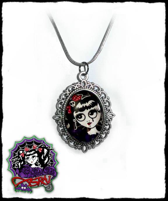 Necklace Weeping girl